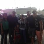 Anita Martinez y el equipo de Mariano Max